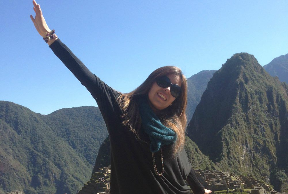 "Patient stories – ""Due to a thrombosis my leg will never be the same. Sometimes it hurts, but I need to move on. I was able to reach Machu Picchu!"""